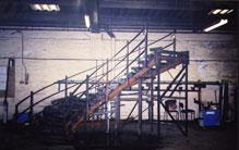 Adelphi History Manufactuing Area